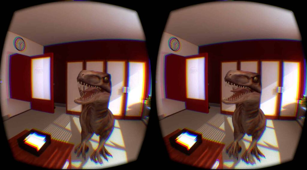 virtual reality game Don't Let Go