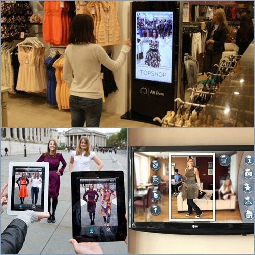 virtual fitting rooms augmented reality