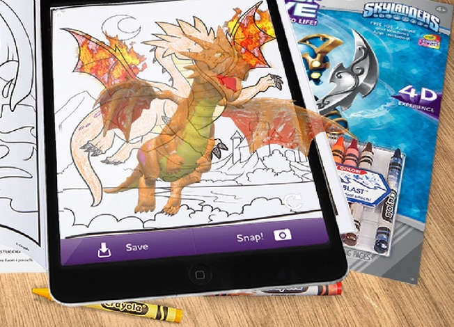 crayola color alive augmented reality app