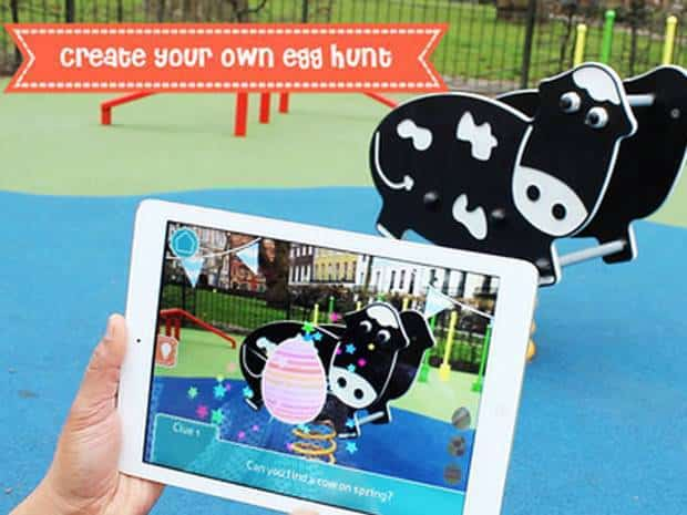 create your own easter hunt with augmented reality apps