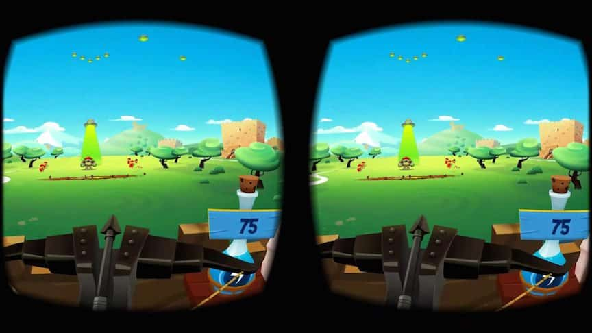 play romans samsung gear vr virtual reality game
