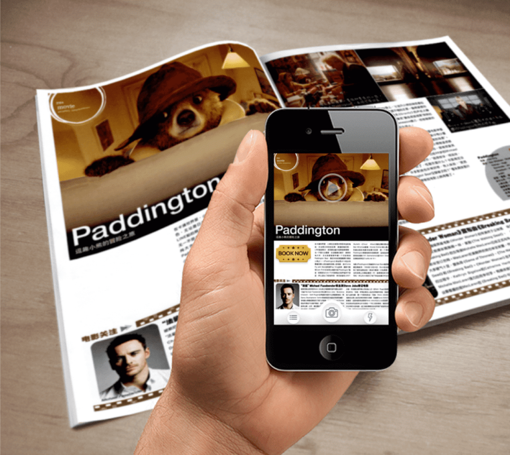 printed media augmented reality