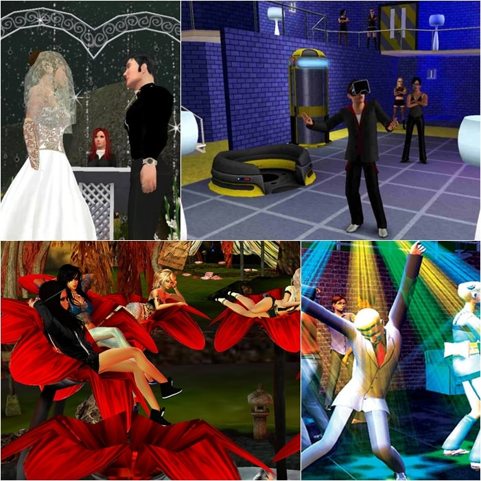 virtual reality worlds in virtual reality games