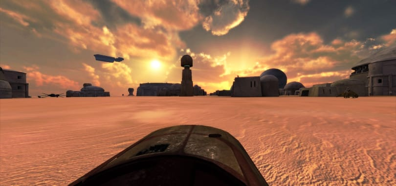 VR games - Tatooine