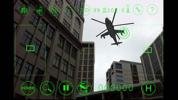 Augmented Reality App Showdown - Sky Siege