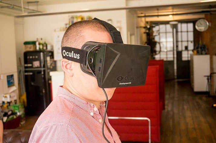 Facebook-Owned Oculus Rift Dev kit User