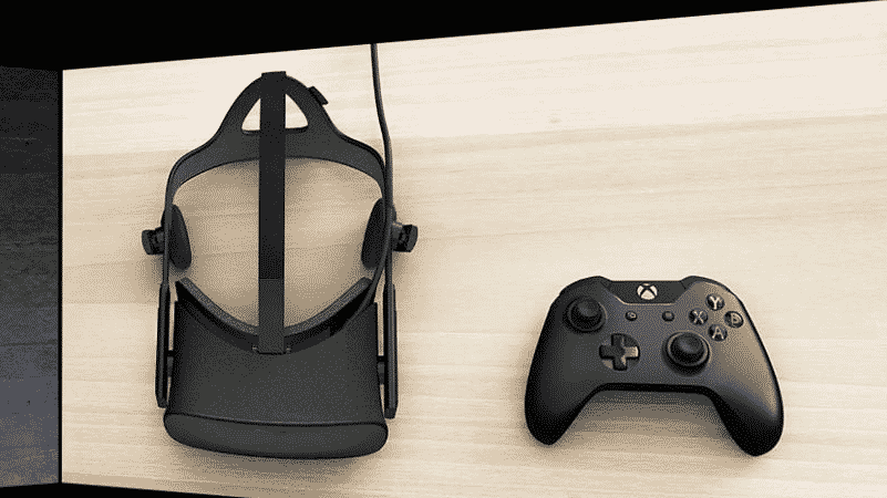 Facebook-Owned Oculus Rift, and an Xbox One Controller
