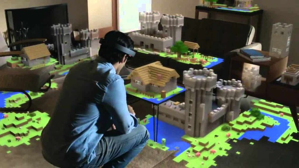 Microsoft HoloLens V1 Developer Edition Minecraft