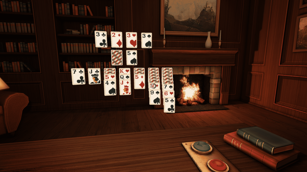 Resolution Games Solitaire Virtual Reality Game