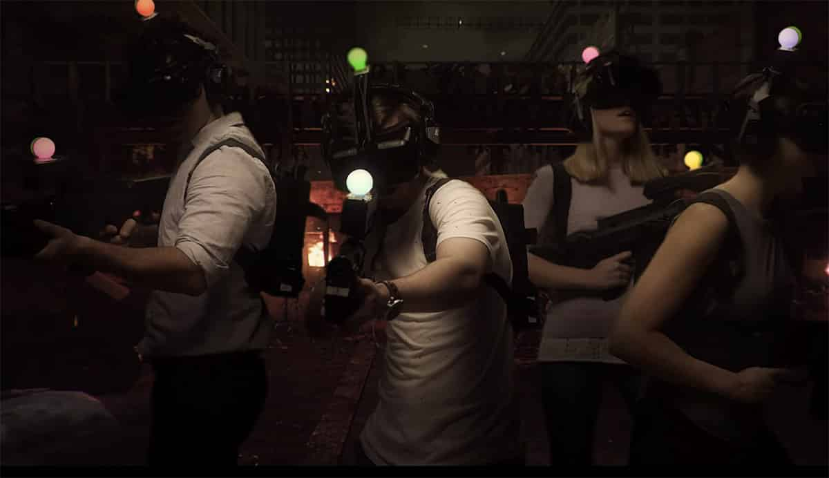 """Zombie Fort Smackdown VR gaming"""