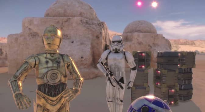 A Star Wars Virtual Reality movie can't be made right now