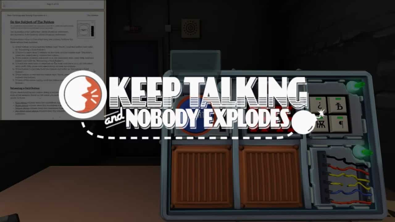 """vr games oculus rift puzzles rift puzzle rift game rift puzzle guide games for oculus rift keep talking and nobody explodes"""