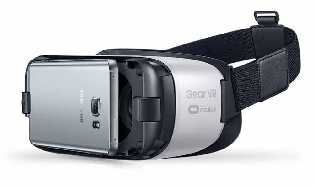 Photo of the Samsung Gear VR headset
