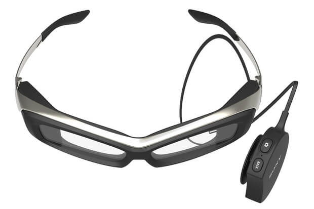 presentation of the sony smart glasses
