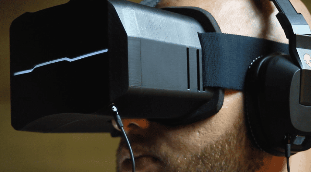 Photo of the visus VR headset