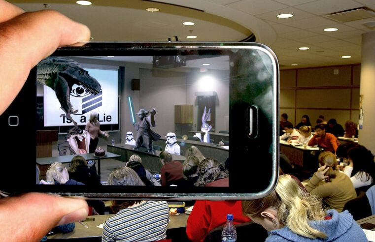 augmented reality in class