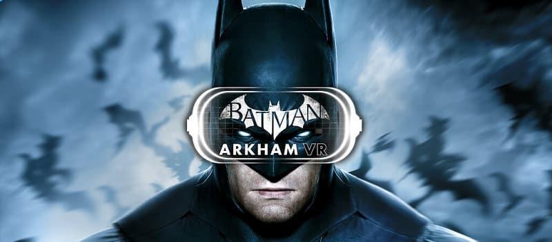 batman arkham VR for play station vr psvr