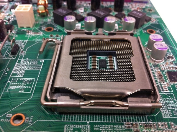 CPU chip set
