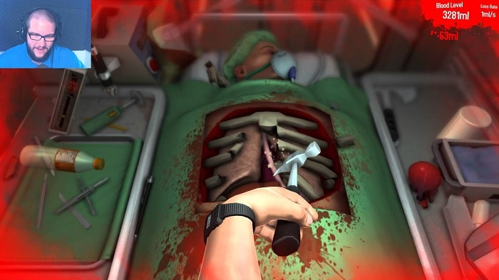 Surgeon Simulator oculus game