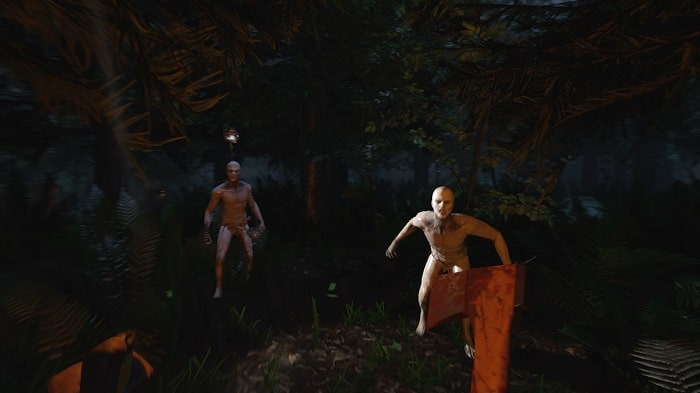 the forest survival game