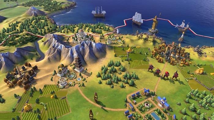 Civilization VI strategy game