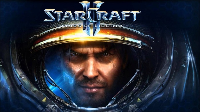Starcraft 2 Wings of Liberty strategy game