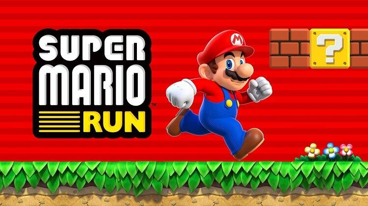 Super Mario Run game poster