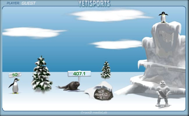 YetiSports flash game