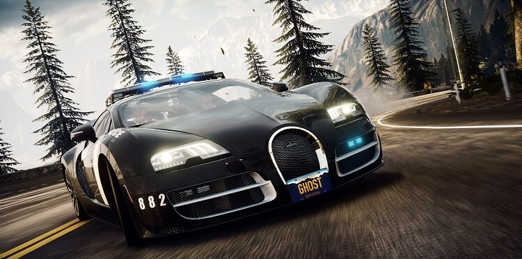 car cop in Need for Speed Rivals