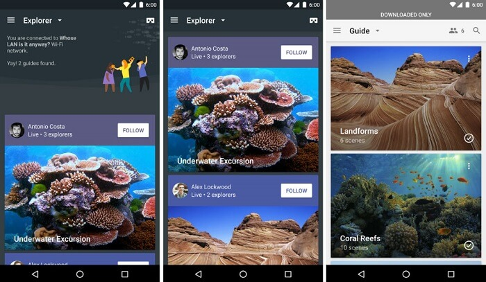Expeditions, one of the best Google Cardboard apps