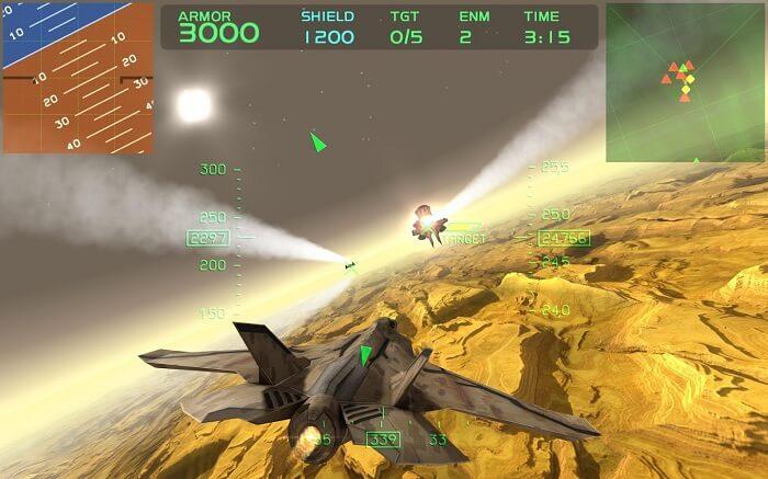 Fractal Combat X screenshot