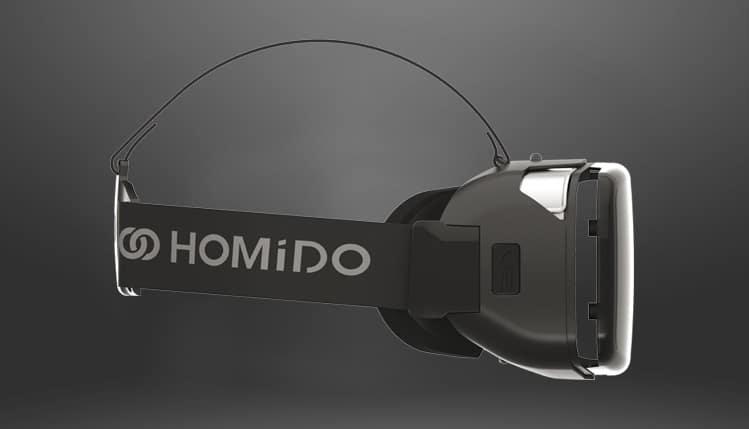 Homido V2 side view