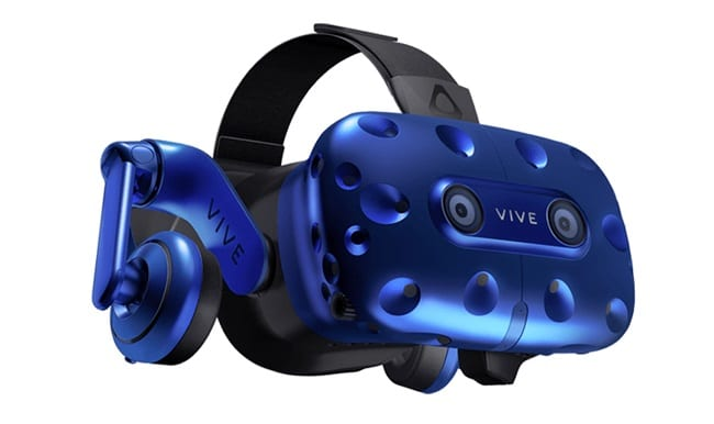 HTC Vive Pro Blue and Black