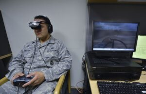 future of virtual reality, military personel uses VR training