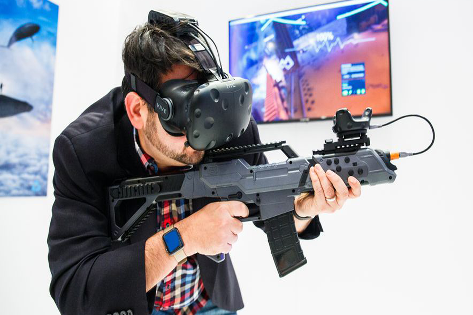 game oriented virtual reality glasses