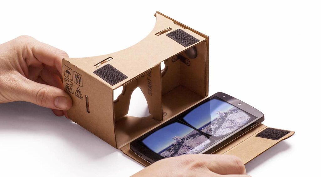 google cardboard accessible vr technology