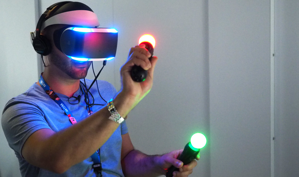 virtual reality gaming of the future