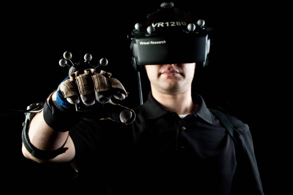 virtual reality hardware and software