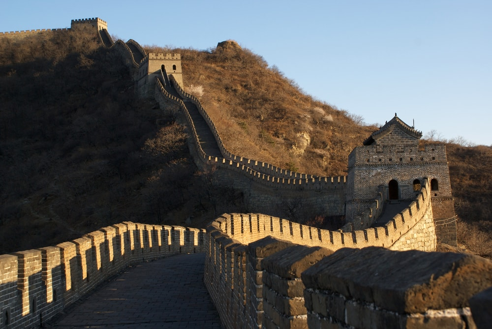 The Google Virtual Reality system makes possible field-trips to The Great Wall of China from the comfort of your own home