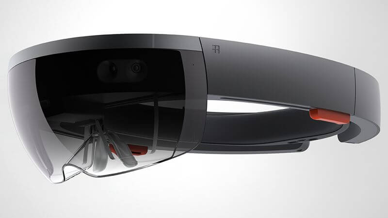 Picture of the Microsoft Hololens