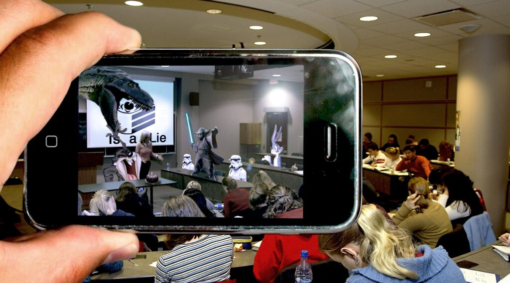 augmented reality app in class