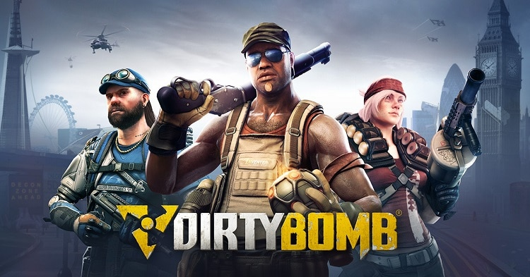 dirty bomb, free multiplayer shooting game