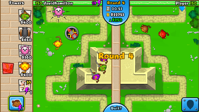 Bloons flash game