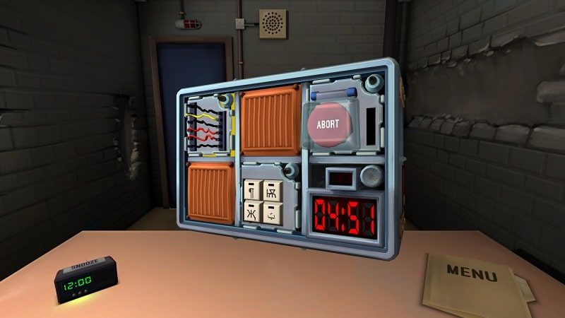 Keep Talking and Nobody Explodes VR game