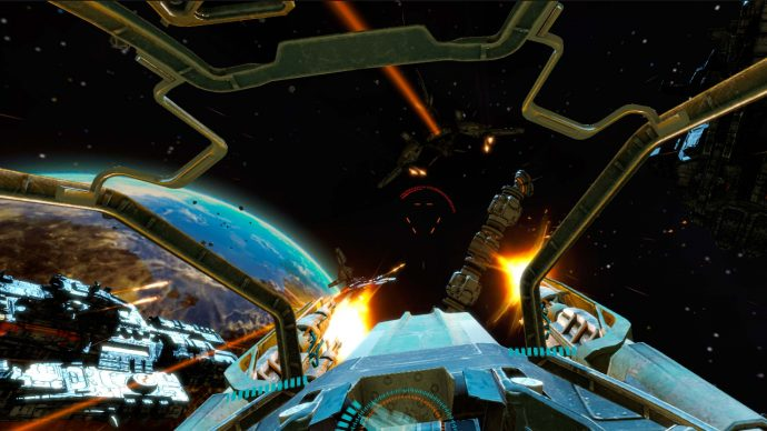 End Space VR, one of the virtual reality games for iPhone