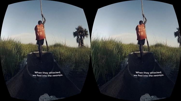 NYT VR app for Google Cardboard