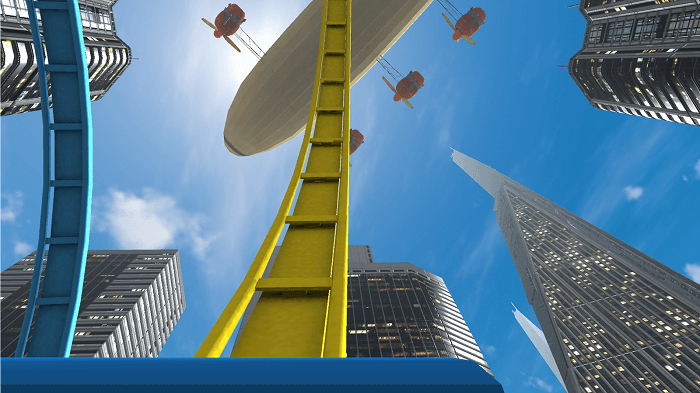 Roller Coaster VR screenshot