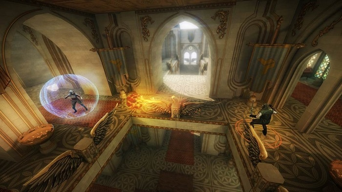 Wands VR game