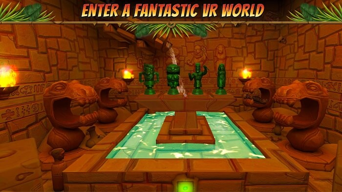 Hidden Temple VR game