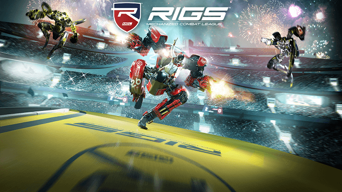 RIGS Mechanized Combat League VR poster